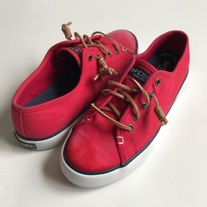 SPERRY Top-Sider Pier View Core Red Sneakers